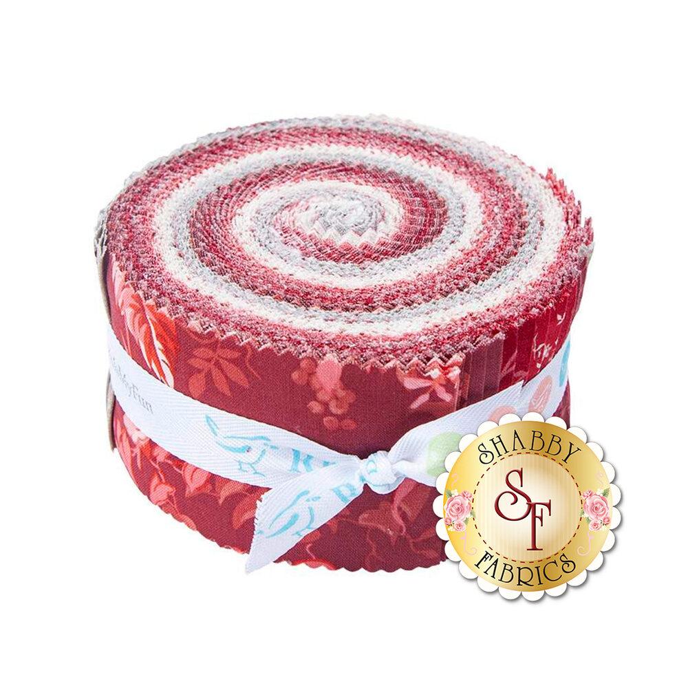 Red Elegance Rolie Polie   Shabby Fabrics