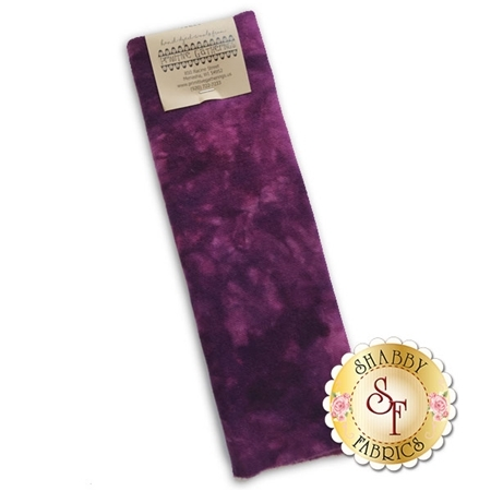 Hand Dyed Wool PRI 5056 Red Grape Solid by Primitive Gatherings for Moda Fabrics