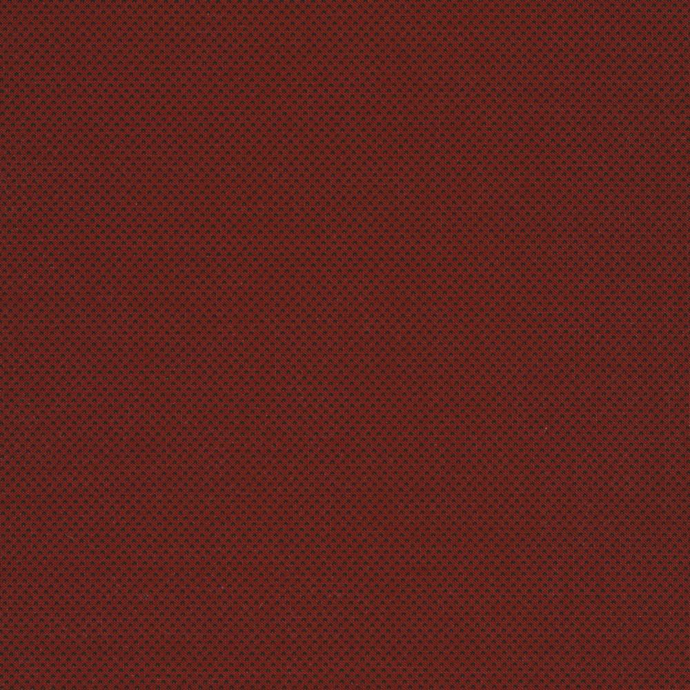 Tonal dark red dots   Shabby Fabrics