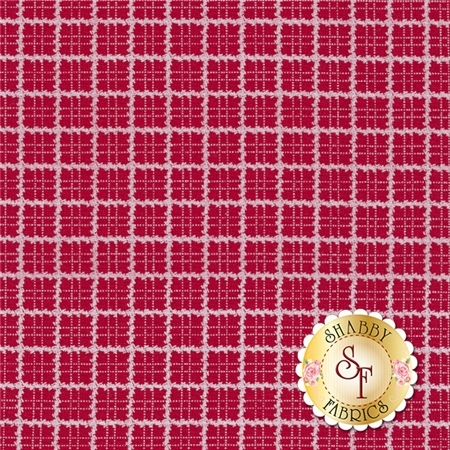 Redwork Revival 8362-88 by Color Principle for Henry Glass Fabrics