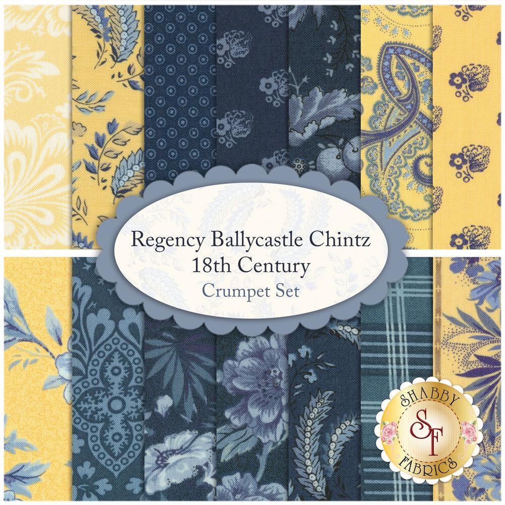 Regency Ballycastle Chintz 14 FQ Set - Crumpet Set for Moda Fabrics