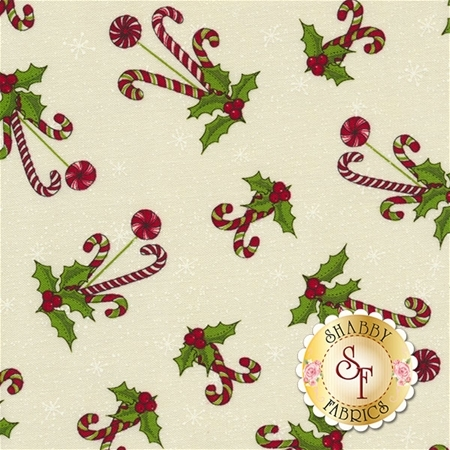 Reindeer Magic 8780-44 by Mary Jane Carey for Henry Glass Fabrics