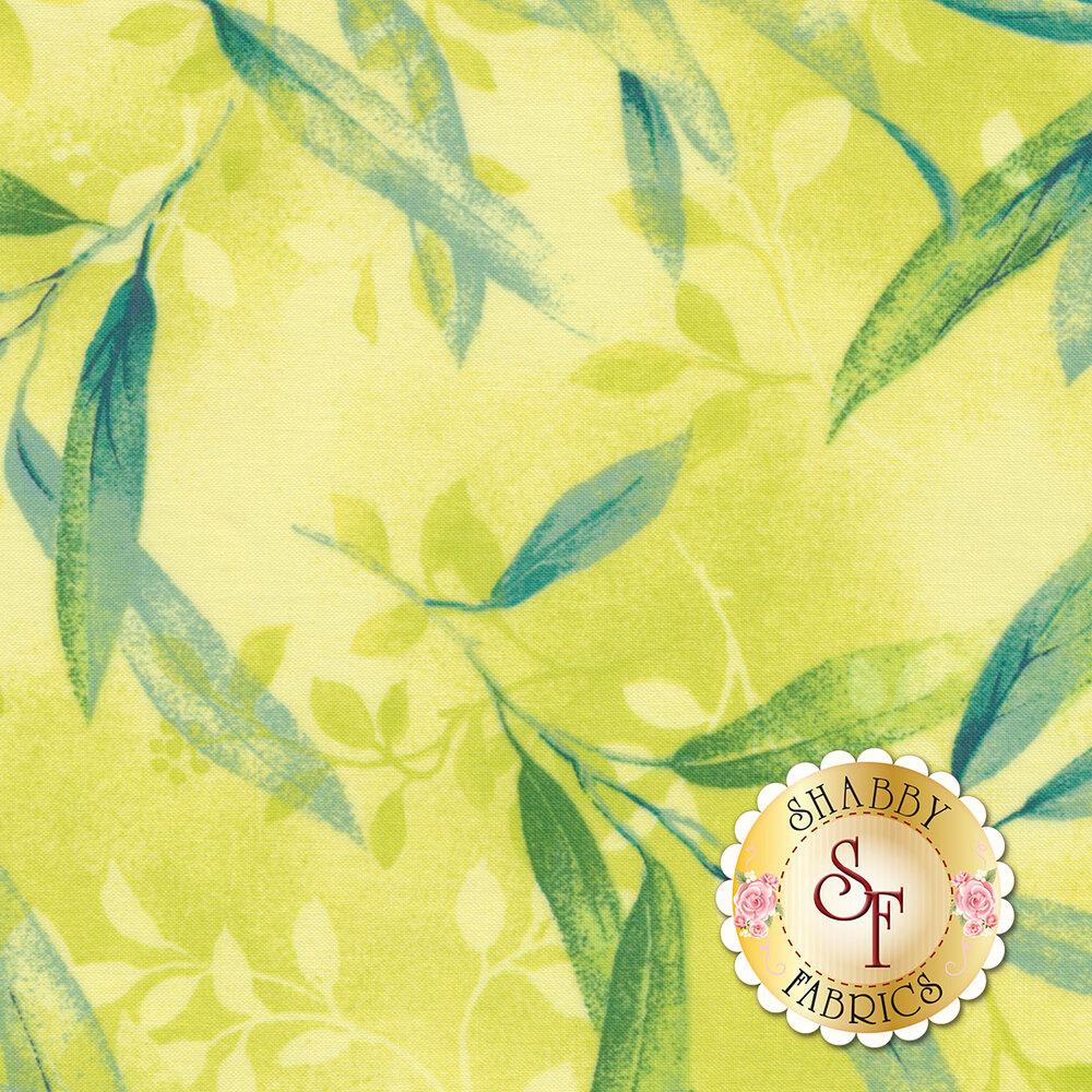 Rejuvenation 90304-S Yellow Delicate Leaves