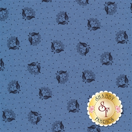 Rhapsody In Blue 42130-2 by Mary Koval for Windham Fabrics