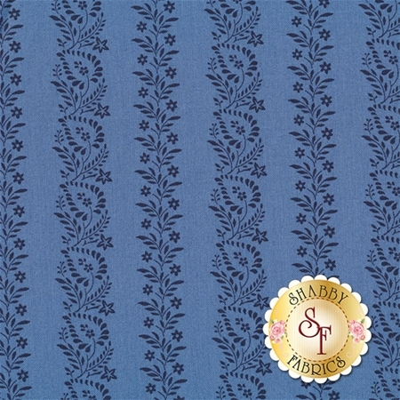 Rhapsody In Blue 42131-2 by Mary Koval for Windham Fabrics