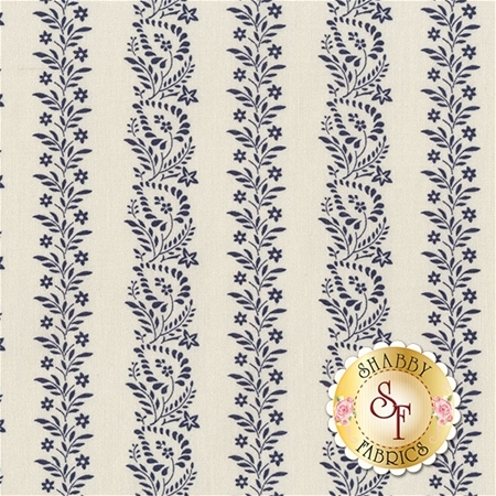 Rhapsody In Blue 42131-3 by Mary Koval for Windham Fabrics