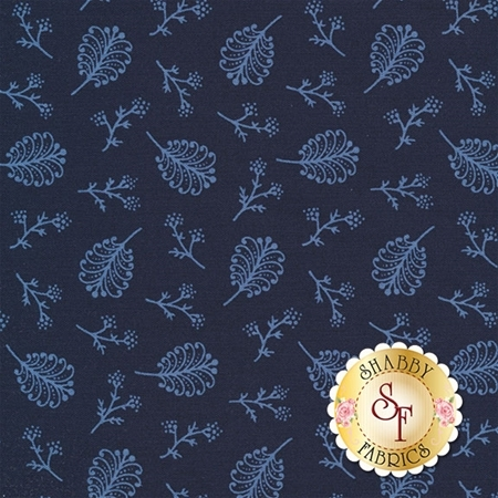 Rhapsody In Blue 42132-1 by Mary Koval for Windham Fabrics REM D