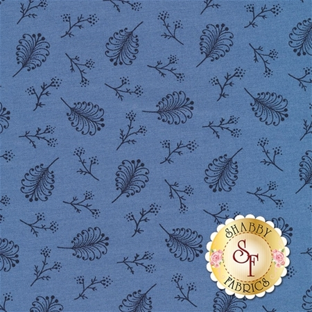 Rhapsody In Blue 42132-2 by Mary Koval for Windham Fabrics