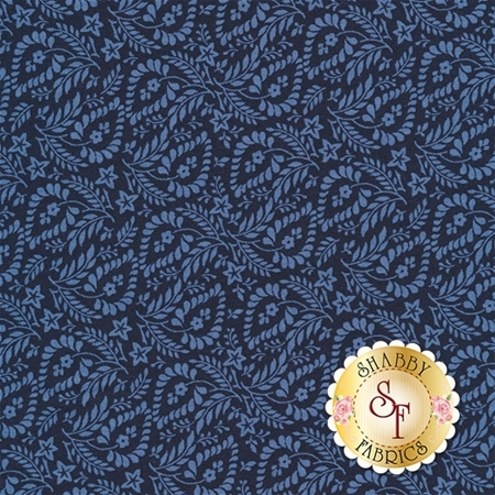 Rhapsody In Blue 42133-1 by Mary Koval for Windham Fabrics