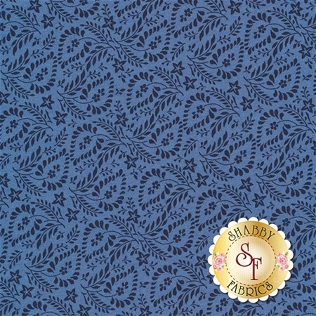 Rhapsody In Blue 42133-2 by Mary Koval for Windham Fabrics