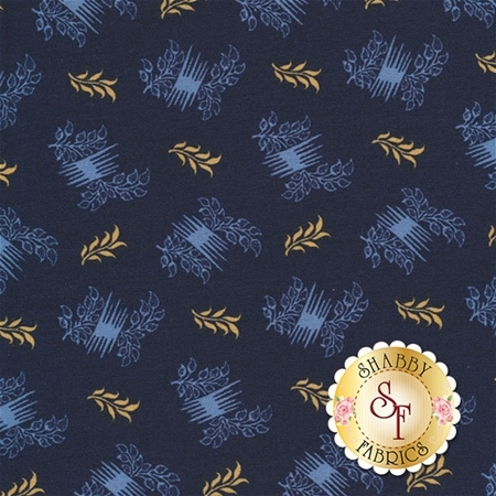 Rhapsody In Blue 42134-5 by Mary Koval for Windham Fabrics