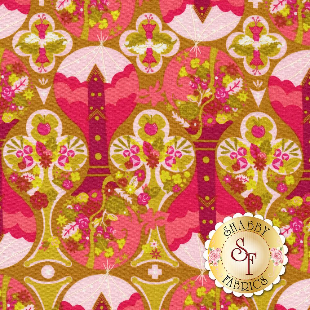Road Trip 8899-E Celebrate Treehouse for Andover Fabrics