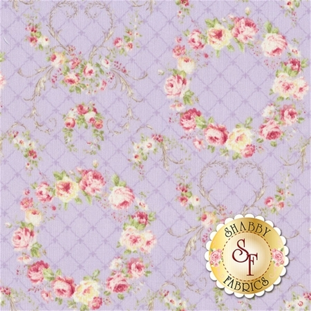 Rococo & Sweet Spring 2016 31362-110 by Lecien Fabrics REM A1