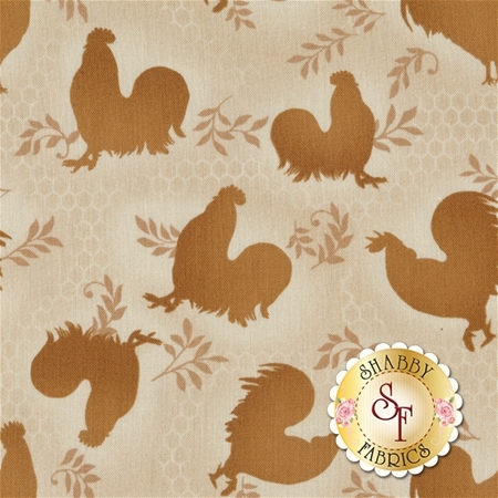 Rooster Inn 112-31132 by Paintbrush Studio for Fabri-Quilt Fabrics