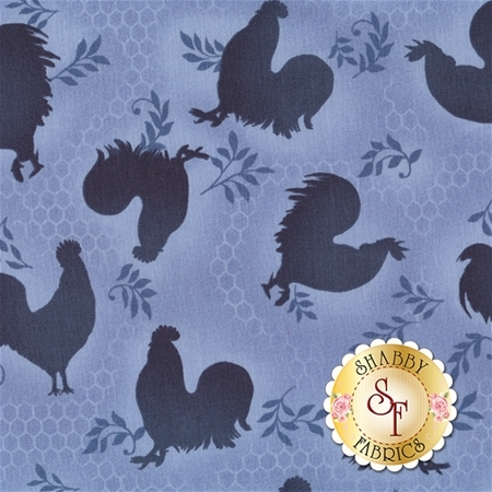 Rooster Inn 112-31133 by Paintbrush Studio for Fabri-Quilt Fabrics