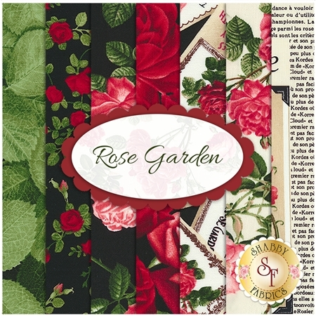 Rose Garden  7 FQ Set by Timeless Treasures Fabrics