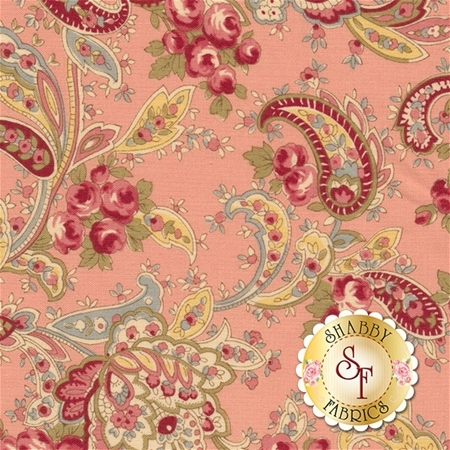 Roses & Chocolate II 33271-12 Rose by Moda Fabrics
