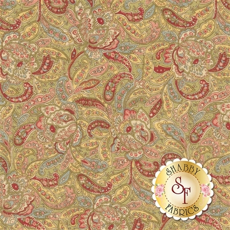 Roses & Chocolate II 33272-13 by Moda Fabrics