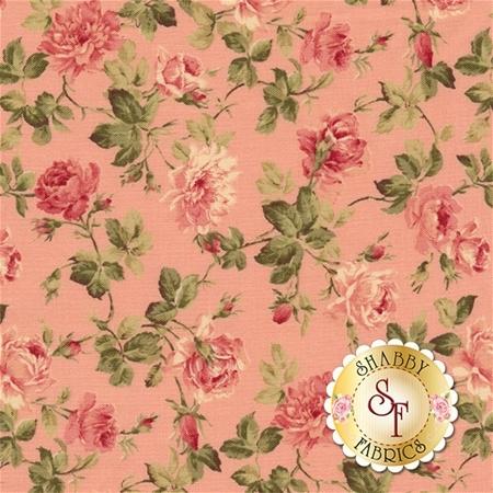 Roses & Chocolate II 33274-12 Rose by Moda Fabrics