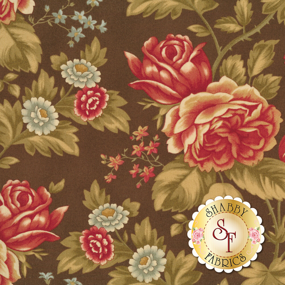 Rosewood 44180-13 Chocolat by 3 Sisters for Moda Fabrics