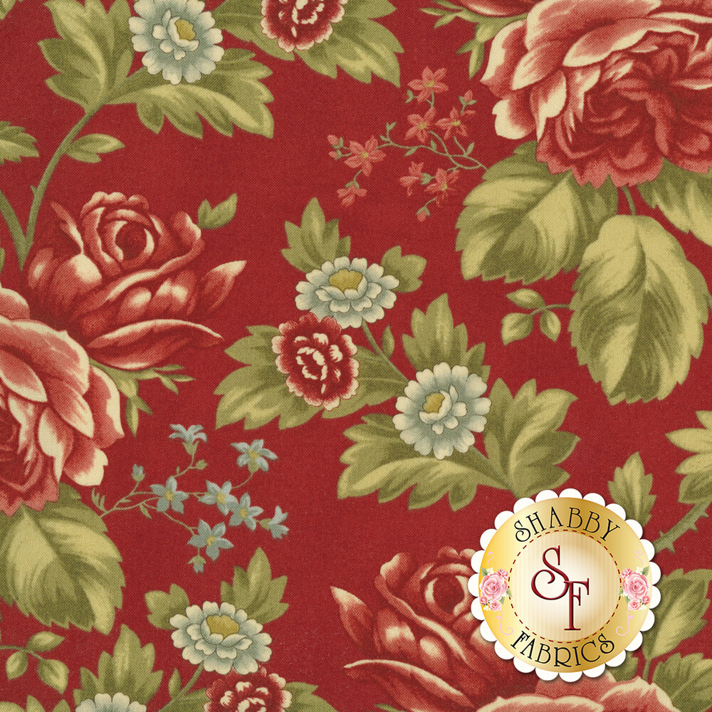 Rosewood 44180-16 Cherry by 3 Sisters for Moda Fabrics REM