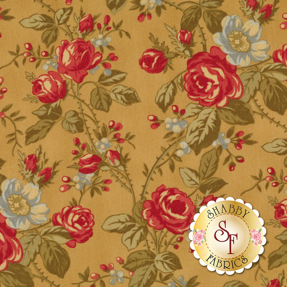 Rosewood 44181-12 Carmel by 3 Sisters for Moda Fabrics REM