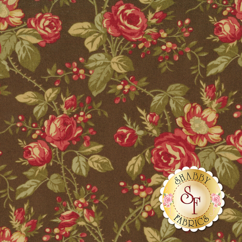 Rosewood 44181-13 Chocolat by 3 Sisters for Moda Fabrics