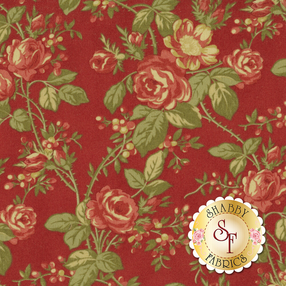 Rosewood 44181-16 Cherry by 3 Sisters for Moda Fabrics