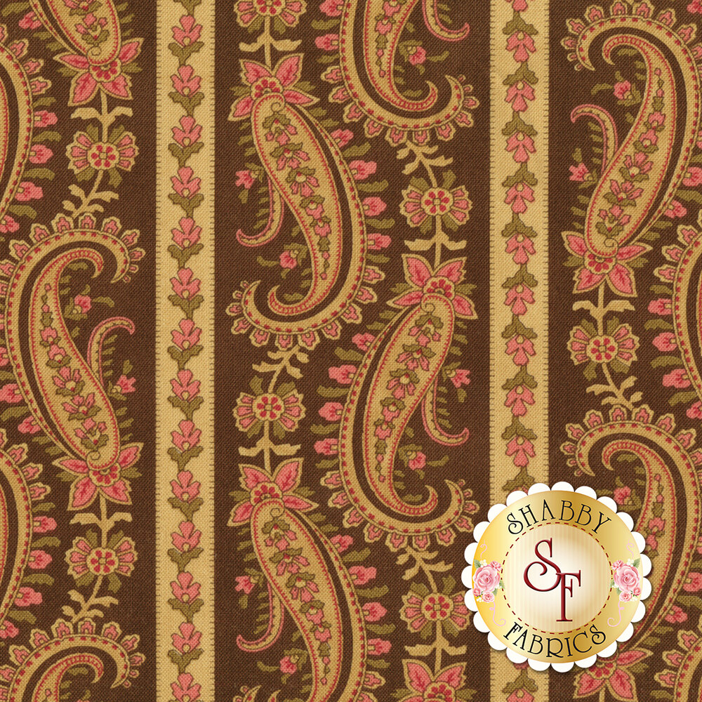 Rosewood 44183-13 Chocolat by 3 Sisters for Moda Fabrics