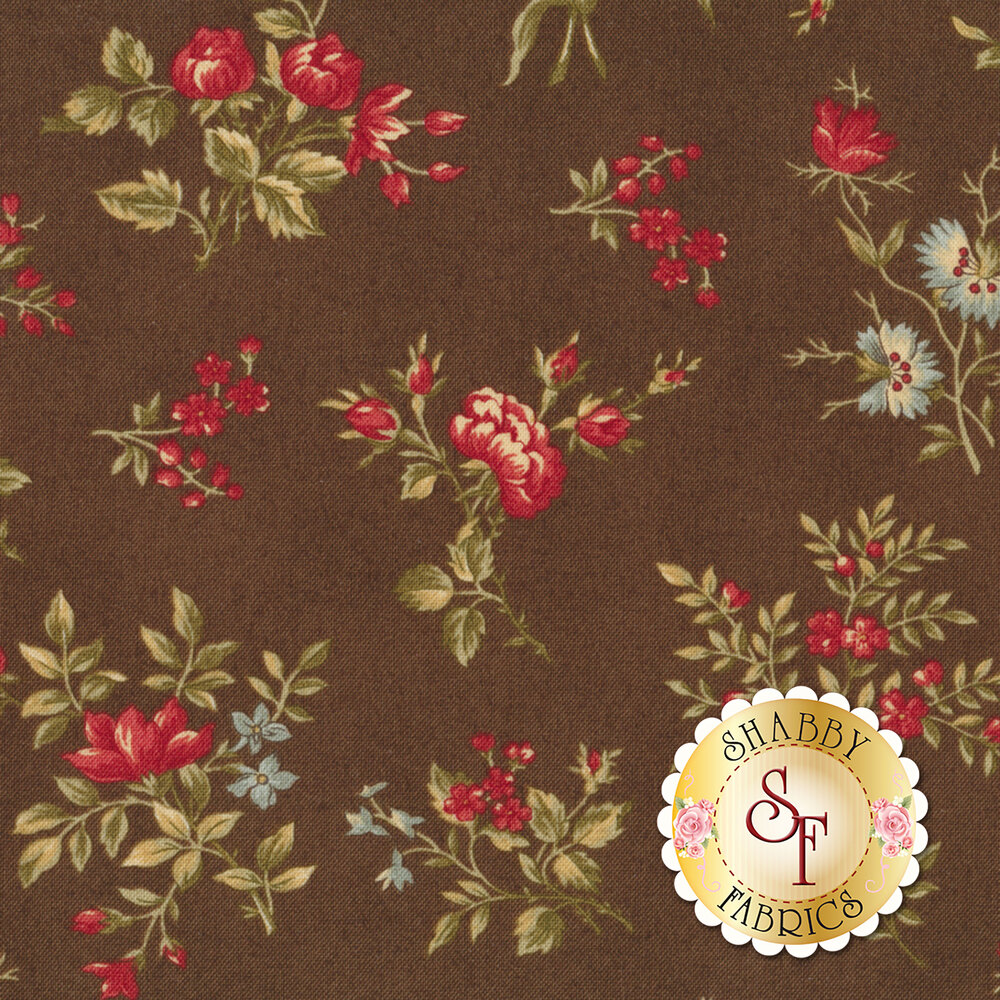 Rosewood 44184-13 Chocolat by 3 Sisters for Moda Fabrics REM