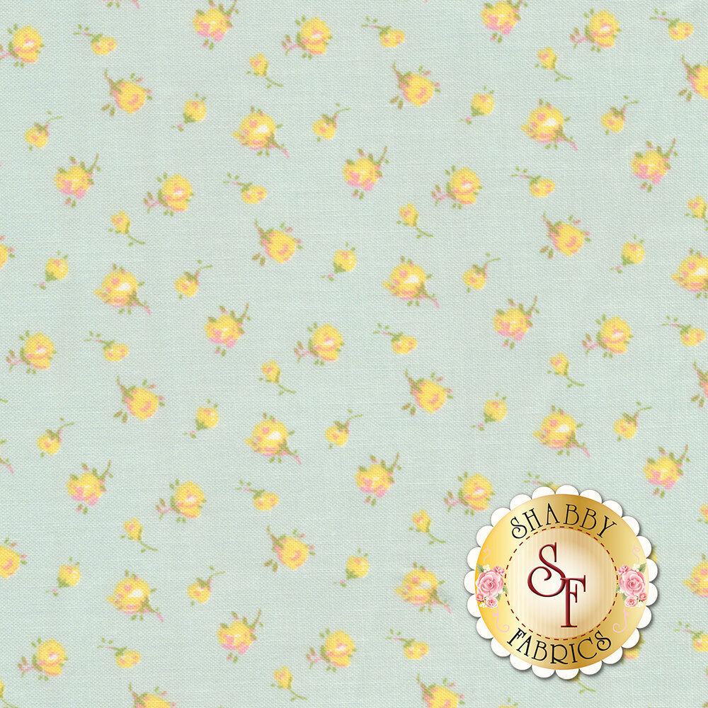 Roslyn 50941-1 Mint Tiny Rosebuds from Windham