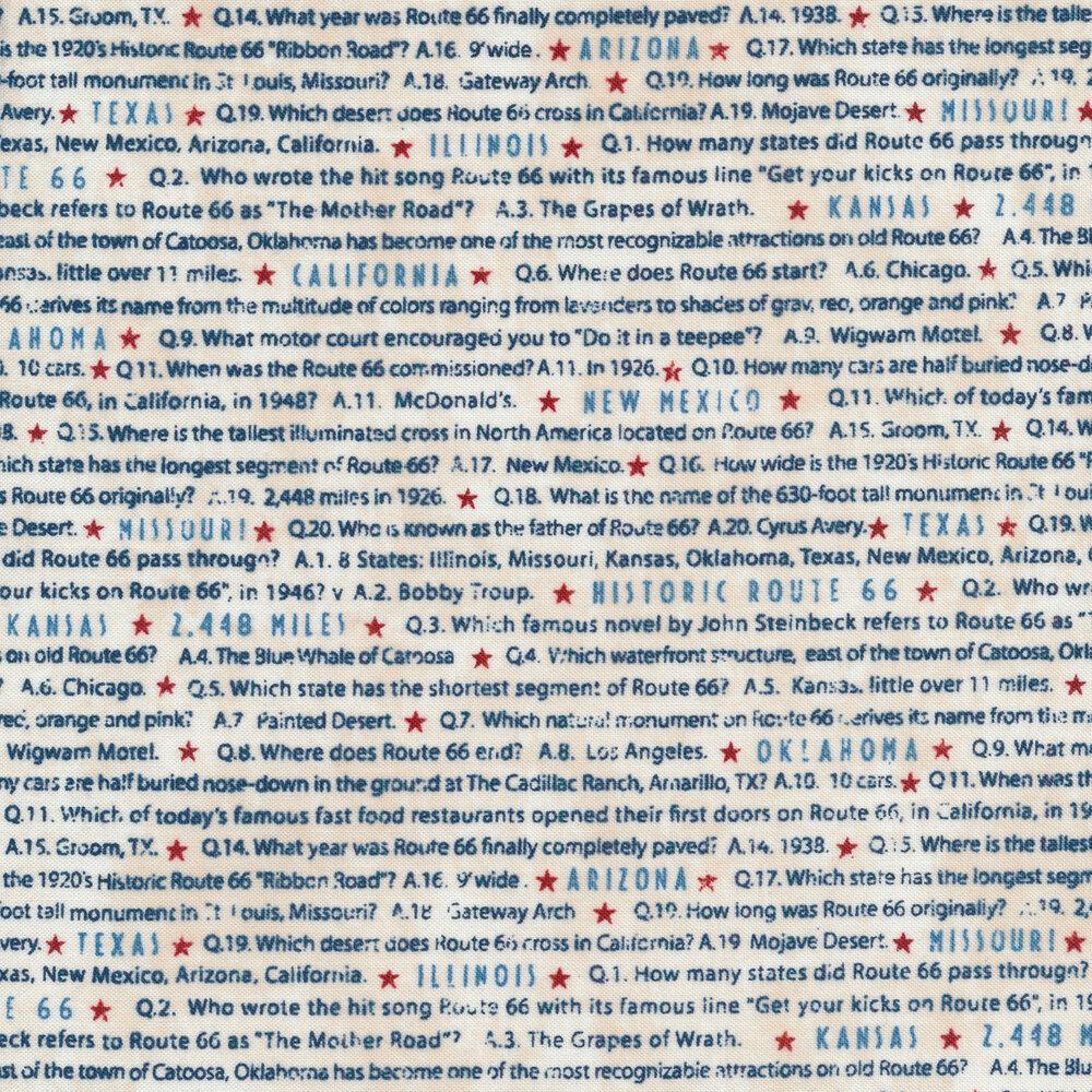 Route 66 23120-11 by Northcott | Shabby Fabrics