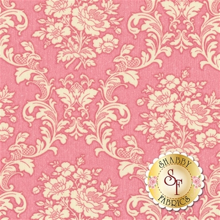 Ruru Bouquet Tea Party RU2270-17B by Quilt Gate Fabrics