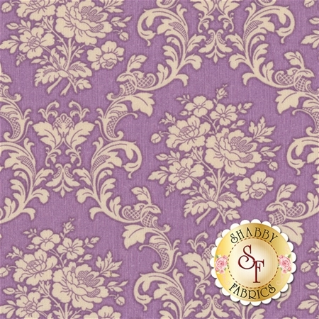 Ruru Bouquet Tea Party RU2270-17E by Quilt Gate Fabrics
