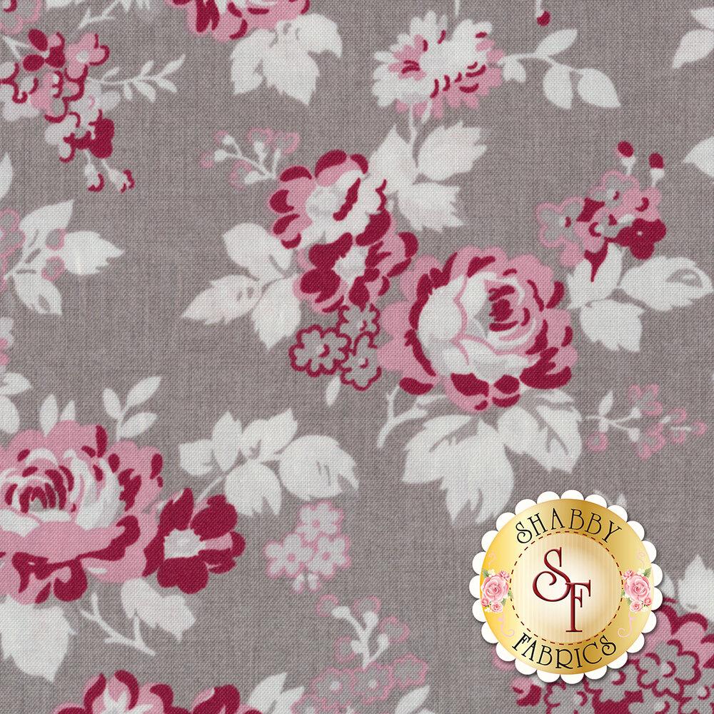Rustic Romance C7060-GRAY by Penny Rose Fabrics