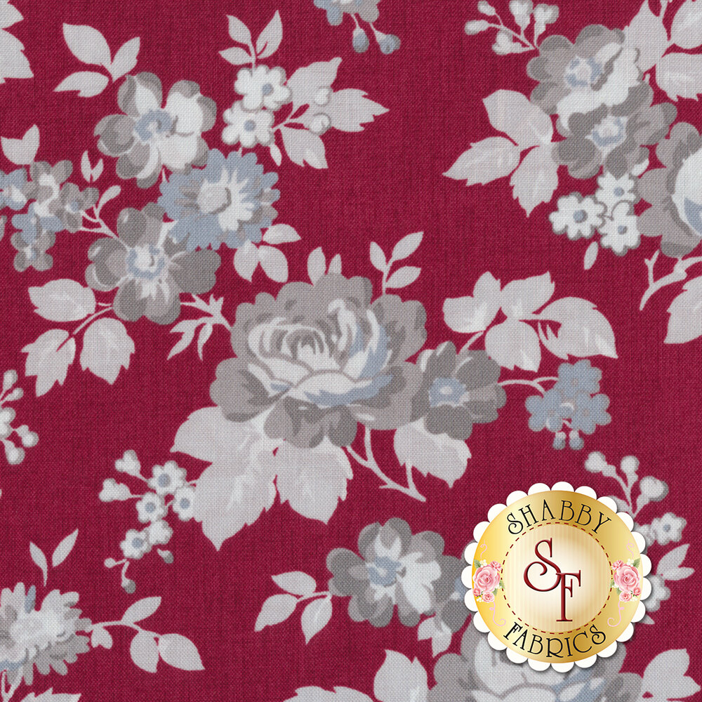 Rustic Romance C7060-RED by Penny Rose Fabrics REM #1