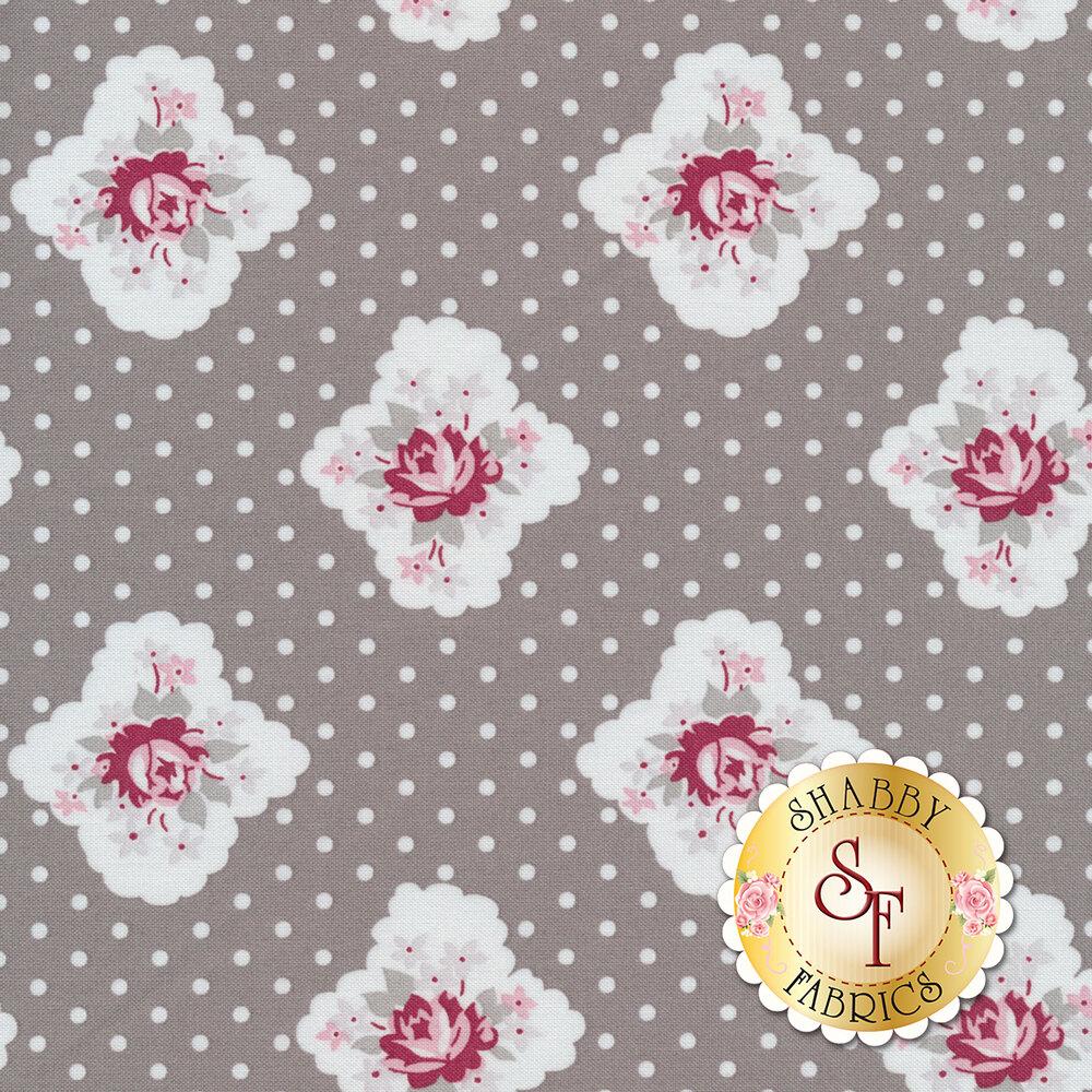 Rustic Romance C7061-GRAY by Penny Rose Fabrics