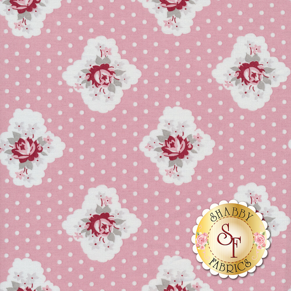 Rustic Romance C7061-PINK by Penny Rose Fabrics