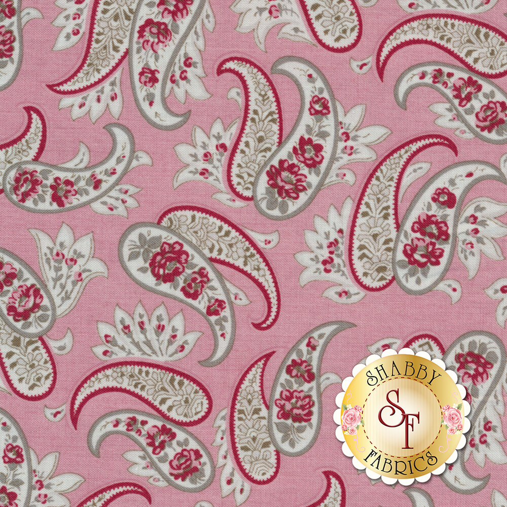 Rustic Romance C7062-PINK by Penny Rose Fabrics