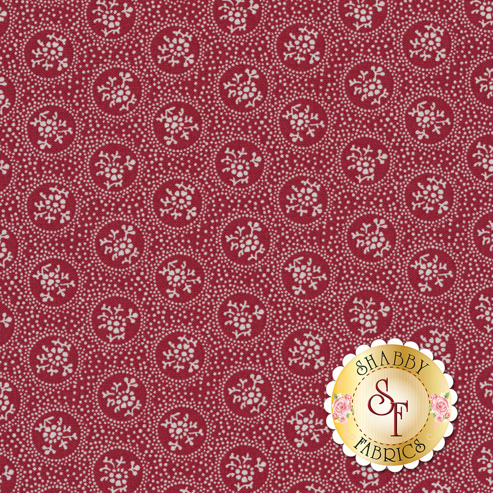 Rustic Romance C7064-RED by Penny Rose Fabrics