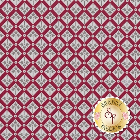 Rustic Romance C7065-RED by Penny Rose Fabrics