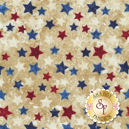 Stonehenge Stars & Stripes 20159-30 by Northcott Fabrics