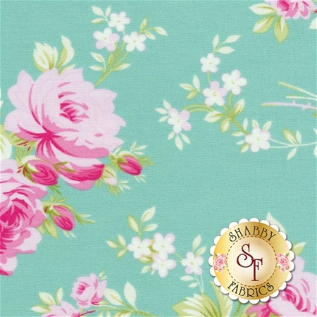 Sadie's Dance Card PWTW122-JADE by Tanya Whelan for Free Spirit Fabrics