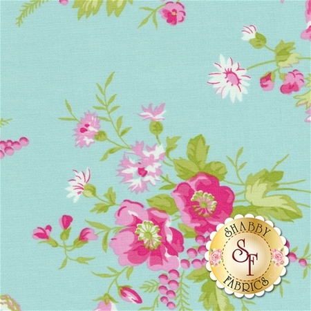 Sadie's Dance Card PWTW125-JADE by Tanya Whelan for Free Spirit Fabrics