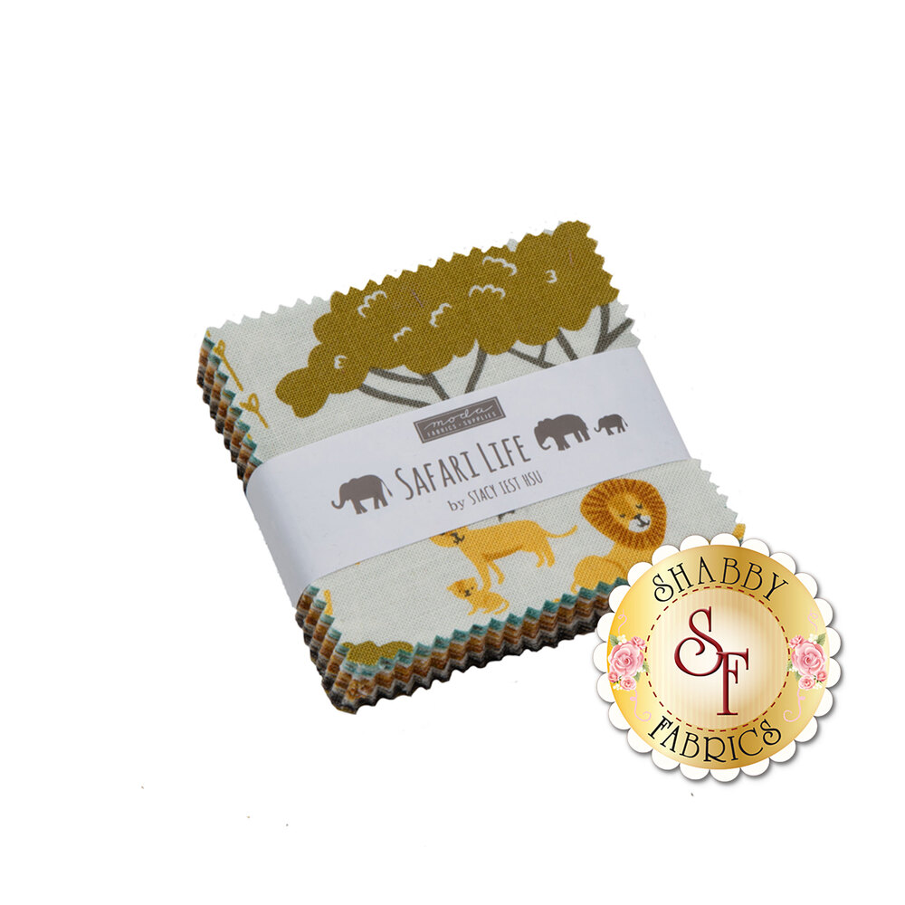Safari Life Mini Charm Pack | Shabby Fabrics