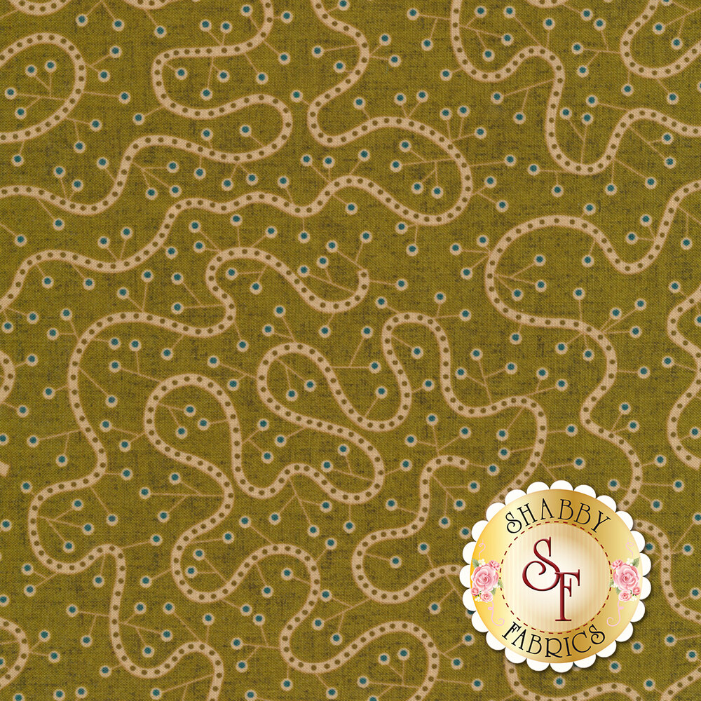 Sage & Sea Glass 1540-66 by Henry Glass Fabrics available at Shabby Fabrics