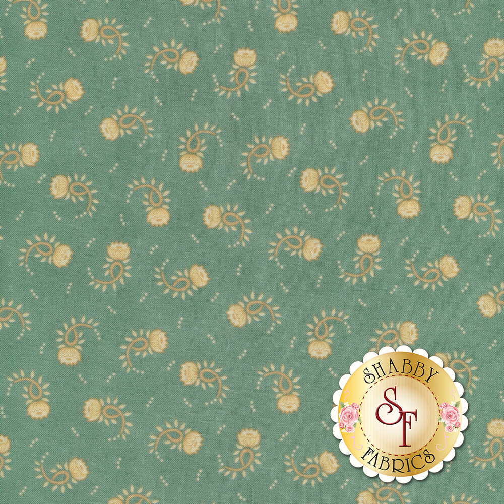 Sage & Sea Glass 1546-11 by Henry Glass Fabrics available at Shabby Fabrics