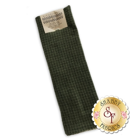 Hand Dyed Wool PRI 5034 Sage Houndstooth by Primitive Gatherings for Moda Fabrics