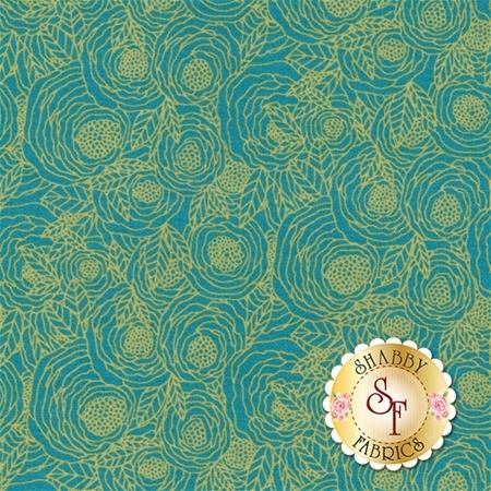 Sage SGE-14454 by Bari J. for Art Gallery Fabrics REM