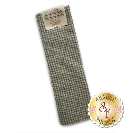 Hand Dyed Wool PRI 5006 Sand Houndstooth by Primitive Gatherings for Moda Fabrics